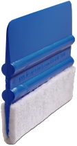 Blue and White Squeegee